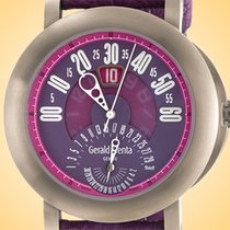 Gérald Genta Arena Bi-Retro Titanium 45mm Purple Arabic numerals United States of America, Illinois, Northfield