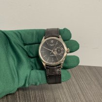 Rolex Cellini Date Weißgold 39mm Schwarz Keine Ziffern