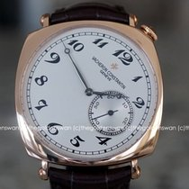Vacheron Constantin Historiques Rose gold 40mm Silver Arabic numerals United States of America, Massachusetts, Milford