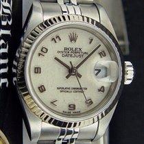 Rolex Lady-Datejust occasion 26mm Champagne Date Acier