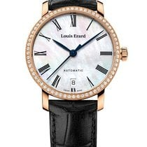 Louis Erard new Automatic Steel Sapphire crystal