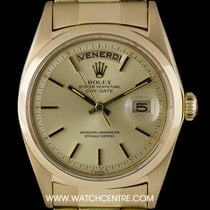 Rolex 18k Yellow Gold O/P Champagne Dial Day-Date Vintage 1803