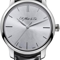 H.Moser & Cie. new Manual winding Power Reserve Display White gold Sapphire Glass