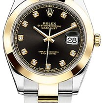 Rolex Datejust II Steel and Yellow Gold Champagne Stick Dial 41mm
