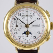 Eberhard & Co. Prata 38mm Corda manual usado