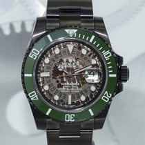 """Rolex Submariner """"Military Skull"""" by Montre Noire"""