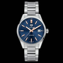 TAG Heuer Carrera Lady WAR1112.BA0601 Tag Heuer Carrera Quadrante Blu Cassa Acciaio 2020 new