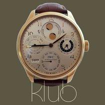 IWC Portuguese Perpetual Calendar Gold 18K