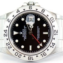 Rolex Explorer II 40mm Stainless Steel With Black Dial