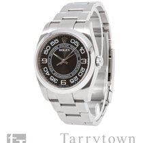 Rolex Oyster Perpetual 36 Steel 36mm Black Arabic numerals United States of America, New York, Hartsdale