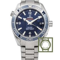 Omega Seamaster Planet Ocean Co Axial 600m blue titanium