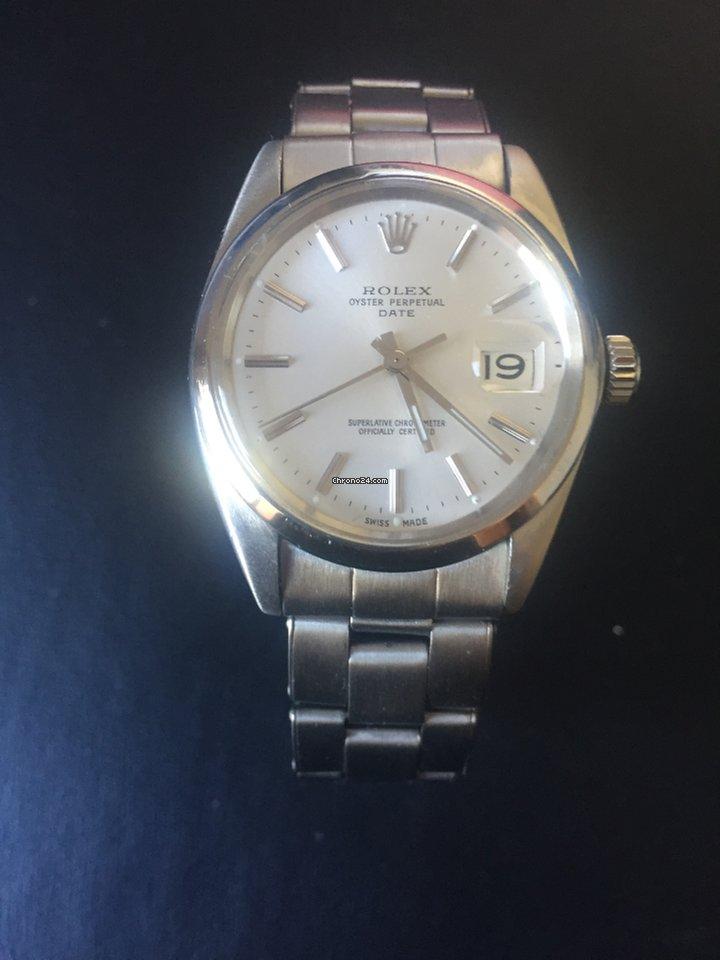 d19d43b4814 Rolex Oyster Perpetual Date - Precios de Rolex Oyster Perpetual Date en  Chrono24