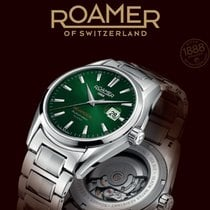 Roamer Searock Steel Green No numerals