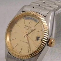 Bulova Steel 36mm Automatic pre-owned United States of America, Michigan, Warren