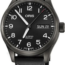 Oris Big Crown ProPilot Day Date Arabic numerals United States of America, New York, Brooklyn
