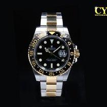Rolex GMT-Master II Gold/Steel 40mm Black No numerals Malaysia, Kuala Lumpur