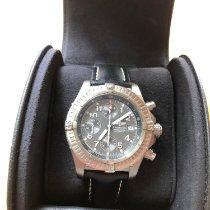 Breitling Super Avenger Titanium 44mm Grey Arabic numerals