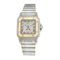 Cartier Santos Galbée new Quartz Watch only 119901