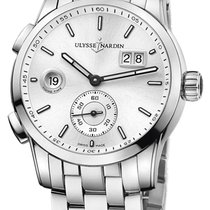 Ulysse Nardin Dual Time Steel 42mm Silver United States of America, California, Moorpark