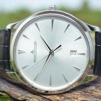 Jaeger-LeCoultre Master Ultra Thin novo Automático Relógio com caixa e documentos originais 174.8.37.S / Code: 5817