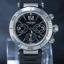 Cartier gebraucht Automatik 42mm Schwarz Saphirglas