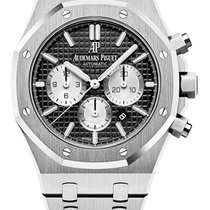 Audemars Piguet 26331ST.OO.1220ST.02 Steel 2019 Royal Oak Chronograph 41mm pre-owned United States of America, New York, New York