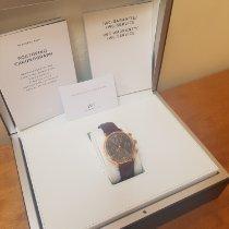 IWC Portofino Chronograph Pозовое золото 42mm Чёрный Римские