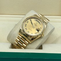 Rolex Day-Date 36 new Automatic Watch with original box and original papers 118238