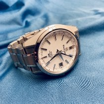 Seiko Grand Seiko Titanium 39mm White No numerals United States of America, California, San Jose