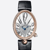 Breguet 8918BR/58/964/D00D Rose gold 2020 Reine de Naples 36.5mm new