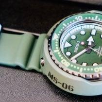 精工 Prospex 钢 53,5mm 绿色 无数字