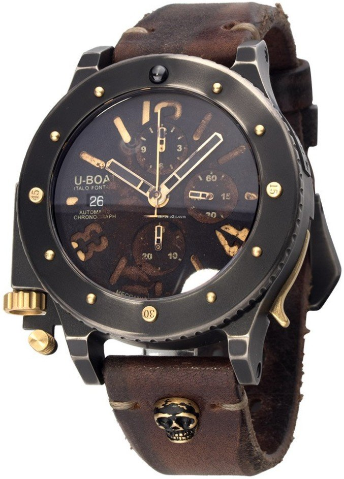 uboat u42 unicum chronograph limited edition for 10755