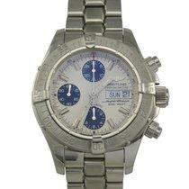 브라이틀링 (Breitling) Stainless Steel Super Ocean Chronometer