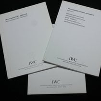 IWC kit portugieser chrono automatic ref.3714booklet papers card