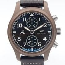 IWC Pilot Chronograph nouveau 2013 Remontage automatique Chronographe Montre avec coffret d'origine et papiers d'origine IW388004