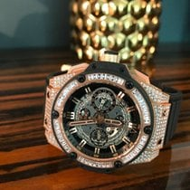 Hublot King Power Unico Very Limited  BAGUETTE DIAMOND Bezel