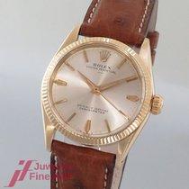 Rolex Ref.6551 - Cal. 1130 - 14K/585 Gelbgold/Lederband