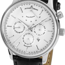 Jacques Lemans 44mm Automatic new Silver