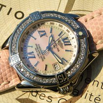 Breitling B Class A67365 Steel Diamonds Mop Mother Of Pearl...