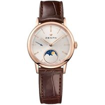 Zenith Elite Ultra Thin Rose gold 33mm Silver United States of America, Pennsylvania, Holland