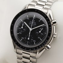 Omega Speedmaster Reduced Acél 39mm Fekete