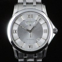 Maurice Lacroix Pontos Day Date Steel Automatic