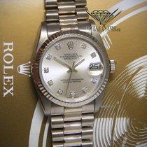 Rolex Datejust President 18k White Gold Diamond Dial Ladies...