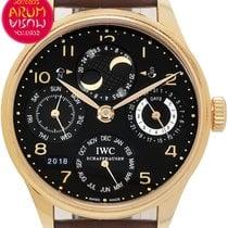 IWC IW502119 Rose gold Portuguese Perpetual Calendar 44mm pre-owned