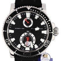 Ulysse Nardin Maxi Marine Chronometer Diver Black 42.7mm Steel...