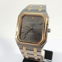 Audemars Piguet Royal Oak Jumbo Золото/Cталь 38mm Cерый
