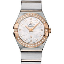 Omega Constellation New Gold/Steel 24mm Quartz