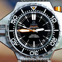 Omega Seamaster Ploprof 1200 meter Black Dial Auto Co-Axial Diver