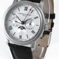 Frederique Constant Classics Business Timer neu 40mm Stahl