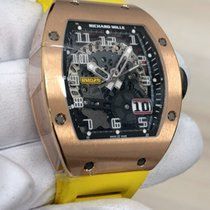 Richard Mille RM 029 Rose gold 39.70mm Transparent Arabic numerals United States of America, New York, New York
